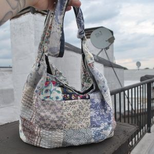 QUILTED BOHO TOTE